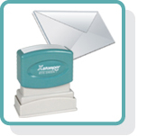 Postal rubber stamps at XstamperOnline.com. Free shipping on orders over $10!