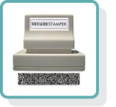 Security and identity theft protection stamps at XstamperOnline.com. Free shipping on all orders over $10!