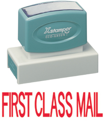 Xstamper 3239 First Class Mail