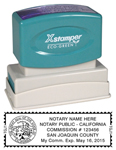 N14 California Notary Stamp