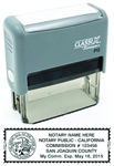 P12 Self-Inking Stamp California Notary
