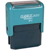 Classix Ep11 ECO-Green Self Inking Stamp