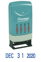 Xstamper 52113 Blue Line Dater
