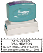 N14 Illinois Notary Stamp