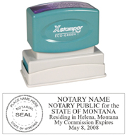 N14 Montana Notary Stamp