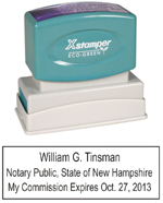 N14 New Hampshire Notary Stamp