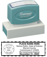 N18 Indiana Notary Stamp