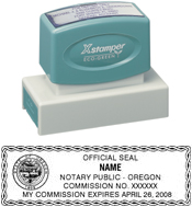 N18 Oregon Notary Stamp