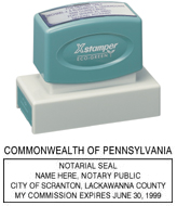 N18 Pennsylvania Notary Stamp