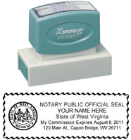 N18 West Virginia Notary Stamp