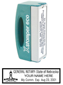 N42 Nebraska Pocket Notary Stamp