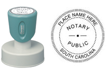 N53 Round South Carolina Notary Stamp