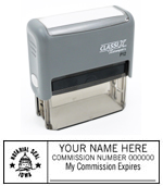 P12 Self-Inking Stamp Iowa Notary