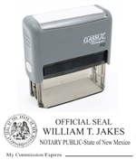 P12 Self-Inking Stamp New Mexico Notary