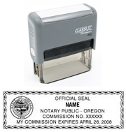 P13 Self-Inking Stamp Oregon Notary