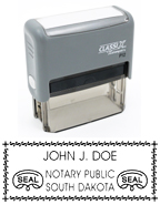P13 Self-Inking Stamp South Dakota Notary