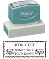 N18 South Dakota Notary Stamp