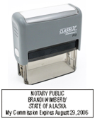P12AK - P12 Self-Inking Stamp Alaska Notary