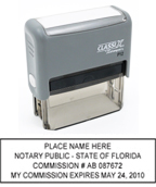 P12FL - P12 Self-Inking Stamp Florida Notary