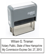 P12NH - P12 Self-Inking Stamp New Hampshire Notary